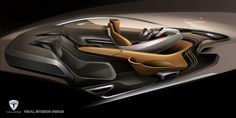 Tesla Model-S 2025 Interior Design on Behance