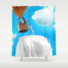 Savior Shower Curtain by Vadim Cherniy - $68.00