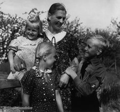 """Early marriage and high birthrates were supposed to maintain the competitiveness of the German people in the ongoing battle with """"inferior"""" races. In other words, the image of the family as the """"nucleus of the nation"""" served chiefly to ensure that future generations of soldiers would be conceived, born, and raised."""