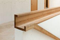 handlauf Mehr - New Ideas Interior Stair Railing, Staircase Handrail, Railing Design, Staircase Design, Staircases, Railing Ideas, Stairs Architecture, Interior Architecture, Wood House Design