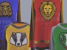 """These """"Harry Potter"""" sweaters are the stuff of our knitted Hogwarts dreams"""