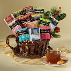 Bigelow tea gifts for the holidays?  We say yes! #BigelowTea #gifts #holidays