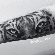 Ojos de tigre (antebrazo) #realism #realismo #ojosdetigre #tigre  #anitafer en #Málaga 680217934 ...