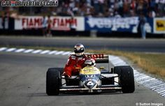#OnThisDay in 1986 the #GermanGP at Hockenheim, Nelson Piquet in Williams-Honda #V6Turbo scored his 15th #F1 win.