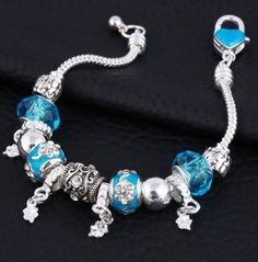Summer Style Silver Plated Bracelet