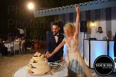 Wedding party in Greece. Wedding Parties, Mermaid Wedding, Greece, Wedding Dresses, Party, Fashion, Wedding Showers, Greece Country, Bride Dresses