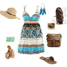 Cute summer outfit., created by iluvps on Polyvore