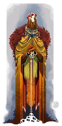Voodoo Priest by *Brett2DBean on deviantART