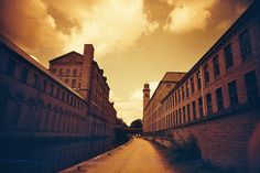 Saltaire.  Love the photo!