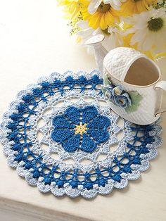 Picture of A Baker's Dozen Easy Crochet Doilies