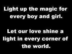 Katrina & The Waves - Love Shine A Light  LYRICS