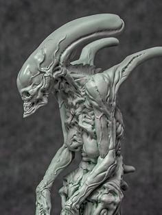 [GARAGE KIT] Alien Matriarch por Dominic Qwek