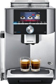 Siemens EQ9 TI909701HC  Siemens EQ9 TI909701HC: Super stille volautomatische espressomachine met wifi De Siemens EQ9 TI909701HC is een ware innovatie op koffiemachinegebied! Deze prachtige super stille koffiemachine heeft de mogelijkheid om jouw smartphone te verbinden met de EQ9 doormiddel van de Home Connect app.Hiermee krijg jij controle en toegang tot jouw espresso volautomaat ongeacht jouw locatie!Het voordeel van je smartphone verbinden met je koffiemachine? Je krijgt toegang tot…