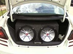 Brandon outfitted his 2001 Dodge Stratus with some killer audio gear from Crutchfield! #Dodge #Alpine  #srslyDIY
