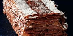 Mille-feuille chocolat de Christophe Felder