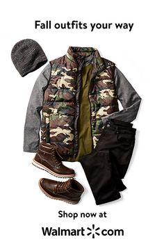 Shop for trendy fall outfits at Walmart. Discover fall styles you'll love like country camo and plaid. Tap to shop now. Blazer Outfits Men, Fall Outfits, Fossil Leather Watch, High Collar Shirts, Urban Fashion, Mens Fashion, Future Clothes, Fall Styles, Men's Coats And Jackets