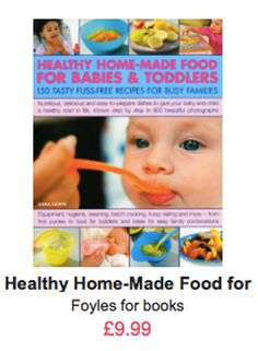 Fuss-Free Food for Babies and Toddlers: 150 Healthy Home-Made Recipes: Nutritious, delicious and easy to prepare dishes to give your baby and child a . fussy eating, going vegetarian and more. Healthy Fruit Desserts, Healthy Vegan Snacks, Healthy Meals For Kids, Kids Meals, Baby Finger Foods, Baby Foods, Baby Weaning, Baby Puree, Going Vegetarian