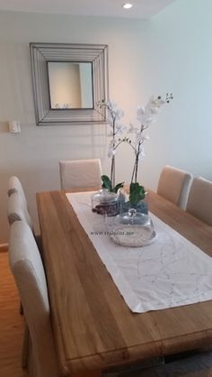 Table Decor Shabby Chic La Maison Verte Dining Room Console