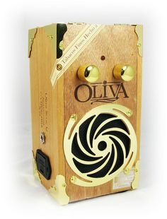 Cigar Box Guitar Amplifier: Tricked Out Oliva Serie G
