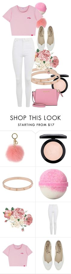 """IDK #21"" by rainbow123321 ❤ liked on Polyvore featuring MICHAEL Michael Kors, MAC Cosmetics, Cartier, Topshop and Michael Kors"