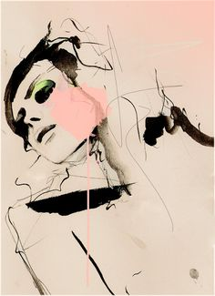 Hence | Leigh Viner #fashion #Illustration