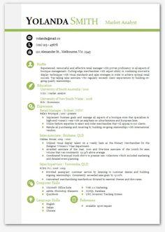 cool looking resume modern microsoft word resume template yolanda smith resume templates word