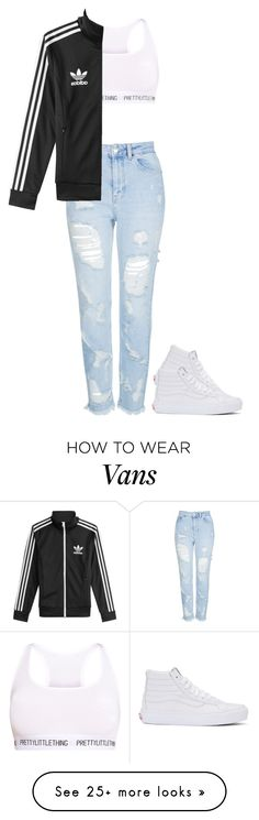 """""""Mall outfit"""" by okaysaraa on Polyvore featuring Topshop, Vans and adidas"""