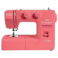 Buy JL110SE Sewing Machine, Coral online at JohnLewis.com - John Lewis