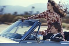VOGUE US - THE RUNAWAYS - Vittoria Ceretti i Lucas Hedges, Palmdale, Kalifornia, 2016 - Peter Lindbergh