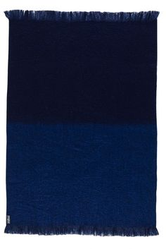 Mohair Throw Rug - Admiral by St Albans