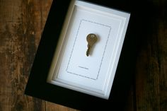 Personalized Key to My Heart Framed Art - gift to husband