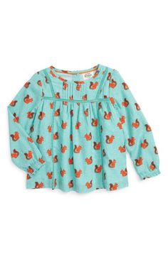 Mini Boden Woven Smock Top (Toddler Girls, Little Girls & Big Girls) available at #Nordstrom