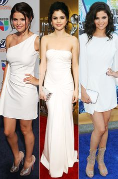 Love the middle dress. Selena Gomez, The Image Awards.