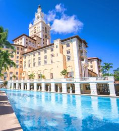The Biltmore Hotel in the city of Coral Gables in Miami, FL