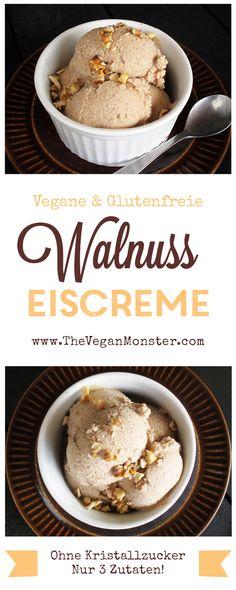 vegane glutenfreie walnuss eiscreme ohne kristallzucker ohne milch rezept