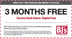 BJ's Wholesale Club Free 3 Month Membership (New Members)