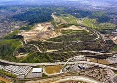 Puente Hills Landfill, California. Largest Landfill in the U.S.