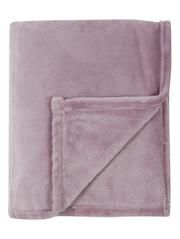Supersoft Mauve Plush Throw