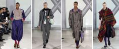 Scottish tartan meets Japanese geometry in these edgy new designs from Issey Miyake: