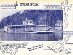 The Governor McClurg Excursion Boat on Lake of the Ozarks » Damming the Osage