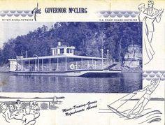 lake, excurs boat