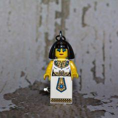 Cleopatra LEGO key chain by boxhounds on Etsy, $10.00