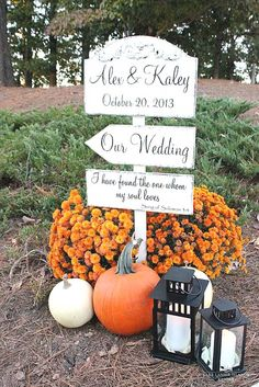 You are appreciated to navigate to October Wedding Decor. This amazing October Wedding Decor will he. Fall Wedding Flowers, Fall Wedding Decorations, Fall Wedding Colors, Autumn Wedding, Wedding Themes, Wedding Signs, Wedding Ceremony, Our Wedding, Dream Wedding