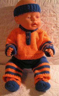 Puppenkleidung-Set 4 Tlg. NEU Baby Born, Krümel, Chou Chou, Jako od. and. Puppen