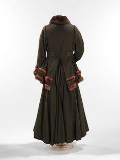 SuitArnold Constable  Company  (American) Date: 1912–15 Culture: American Medium: wool, fur, silk