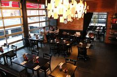 #School restaurant in #Liberty village. Legendary for their award-winning brunch, amazing patio's and great service.