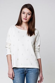 Des Petits Hauts Lorette Sweater #anthropologieEU Anthropologie Uk, New Chic, Uk Fashion, Jewelry Gifts, Clothes For Women, Blouse, Unique, Sweaters, How To Wear