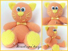 "Free pattern ""Cat Mandarin""             TERMS USED   sc = single crochet   st(s) = stitch (es)   sc2tog = sc 2 together (decrease)   R..."