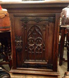 Better Look For Those Presents You Hid Last Summer! Maybe In This Gothic  Cabinet #