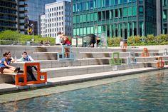 waterfront furniture // La Défense/Paris